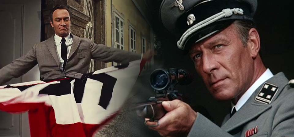 Christopher Plummer, the cross, and the swastika