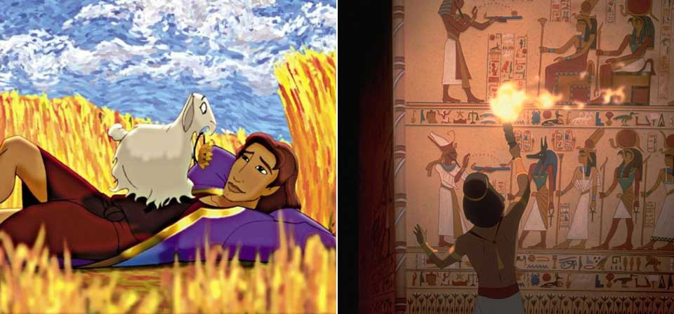 the story of moses in the prince of egypt a film by dreamworks pictures Various scholars tell the story of moses  concept art by paul lasaine for the 1998 dreamworks film, the prince of egypt  prince of egypt bible pictures bible.