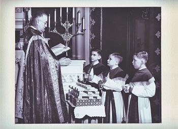 Roger Ebert as an altar boy