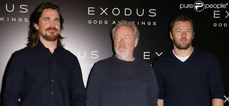 Interview: <i>Exodus: Gods and Kings</i> filmmakers Ridley Scott, Christian Bale and Joel Edgerton