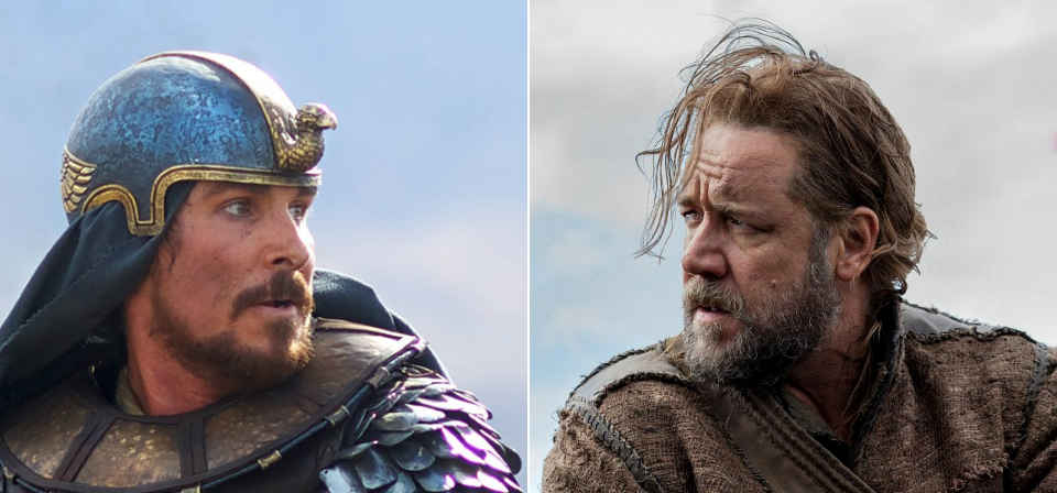 Noah vs. Moses: Stacking up the two Old Testament Hollywood epics of 2014