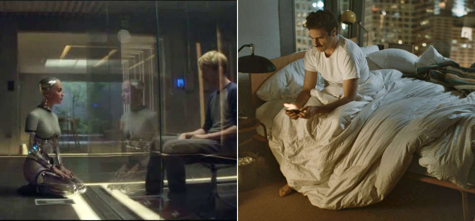 Computer dating: Artificial intelligence and robot sex in <em>Ex Machina</em> and <em>Her</em>