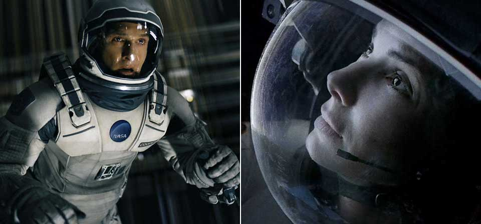 <em>Interstellar</em> and <em>Gravity</em>: Science fiction, outer space and the question of God