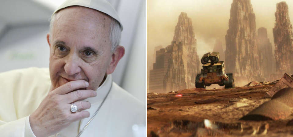 Pixar and the Pope: Pope Francis&#8217; <em>Laudato Si&#8217;</em> and Pixar&#8217;s <em>Wall-E</em>